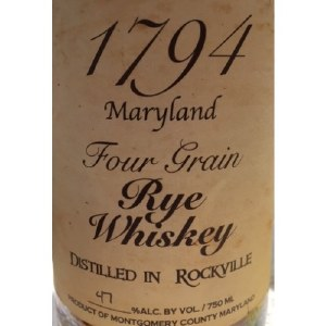 1794 Four Grain Rye Whiskey 750ml