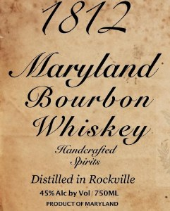 1812 Maryland Bourbon Whiskey 750ml