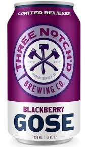 3 Notch Blackberry Gose 12oz 6pk Cans