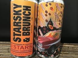 3 Stars Starsky & Brunch Bourbon Aged Stout 16oz 4pk Cans
