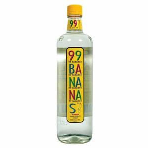 99 Bananas Schnapps 99P Liqueur 750ml