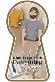 True Respite Khakis Go With Everything Zappa