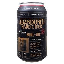 Abandoned Barrel Aged Cider 4pk 12oz Cans