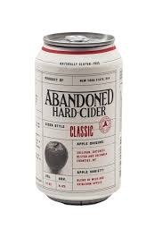 Abandoned Classic Cider 4pk 12oz Cans