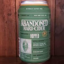 Abandoned Hopped Cider 4pk 12oz Cans
