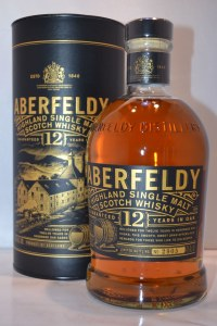 Aberfeldy 12 Year Single Malt Whiskey 750ml