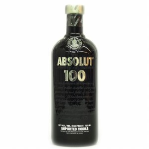 Absolut Black 100P Vodka 750ml