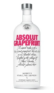 Absolut Gapefruit Vodka 375ml