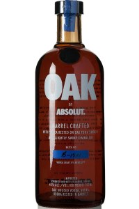 Absolut Oak Barrel Vodka 750 ml