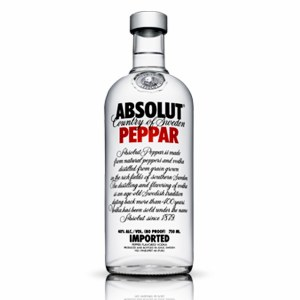 Absolut Peppar Vodka 750 ml