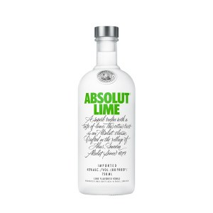 Absoulut Lime Vodka 750ml