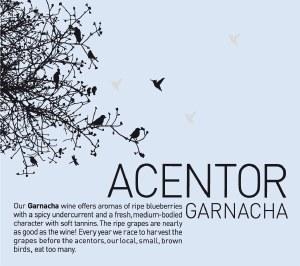 Acentor Garnacha Red 750ml
