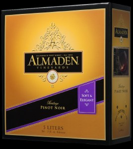 Almaden Burgundy 5L Box