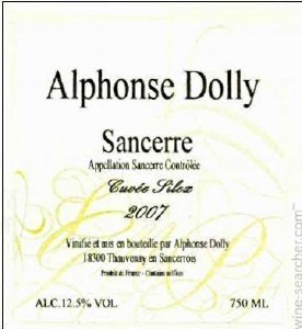 Alphonse Dolly Sancerre 750ml