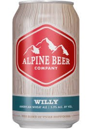 Alpine Willy Wheat Ale 12oz 6pk Cans