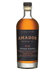 Amador Double Barrel Bourbon Whiskey 750ml