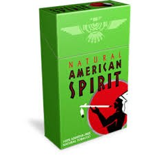 American Spirit Light Green Box