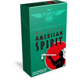 American Spirit Dark Green Box