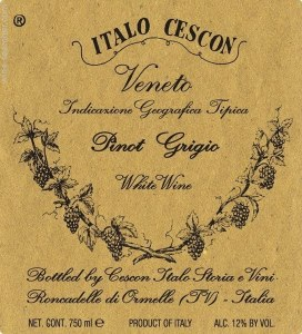 Apostoli Pinot Grigio 750ml