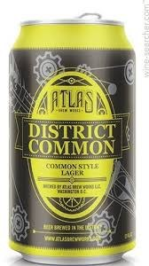 Atlas Distict Common Lager 12oz 6pk Can