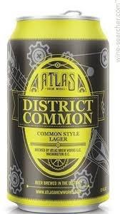 Atlas Distict Common Lager 12oz 6pk Can