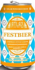 Atlas Festbier 6pk Cans