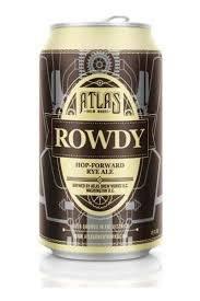 Atlas Rowdy Rye 12oz 6pk Cans