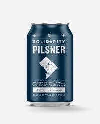 Atlas Solidarity Pilsner 12oz 6pk Cans