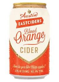 Austin Blood Orange Cider 12oz 6pk Cans