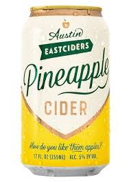 Austin Pineapple Cider 12oz 6pk Cans