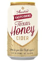 Austin Texas Honey Cider 12oz 6pk Cans
