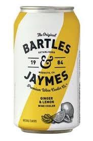 Bartles & Jaymes Ginger Lemon Wine Cooler 6pk Can