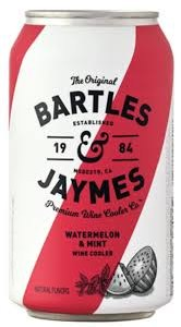 Bartles & Jaymes Watermelon & Mint Wine 6pk Can