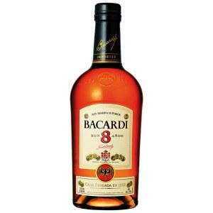 Bacardi 8 Anos Rum 750ml