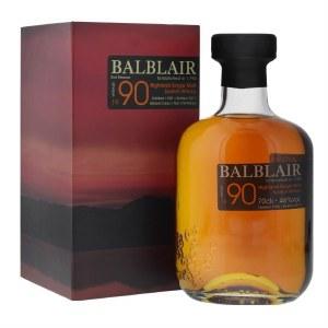 Balblair 1990 Highland Single Malt Whiskey 750ml
