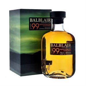 Balblair 1999 Highland Single Malt Whiskey 750ml