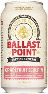Ballast Point Sculpin Grapefruit IPA 12oz 6pk Cans