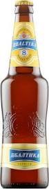 Baltika # 8 Wheat Ale 16oz Bottle