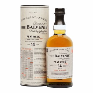 Balvenie 14 Year Single Malt Peated Whiskey 750ml