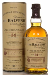 Balvenie Caribbean Cask 14 Year Single Malt Whiskey 750ml