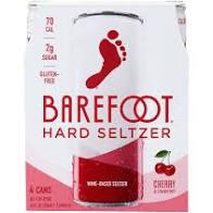 Barefoot Seltzer Cherry 4pk 8oz 4pk Can