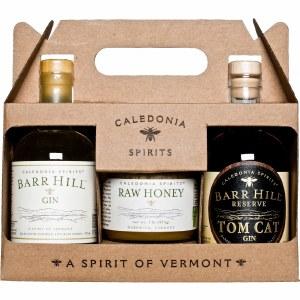 Barr Hil Gin Raw Honey Gift Pk 375ml