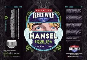 Beltway Hansel Sour IPA 16oz 4pk Cans