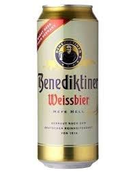 Benedikliner Weissbier 16oz 4pk Cans