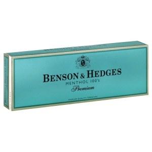 Benson & Hedges Premium Menthol Hard 100