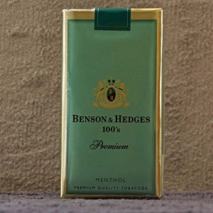 Benson & Hedges Premium Menthol Soft 100