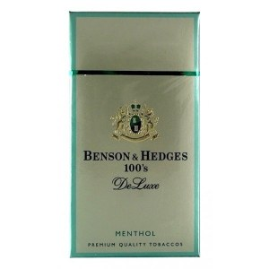 Benson & Hedges Deluxe Menthol