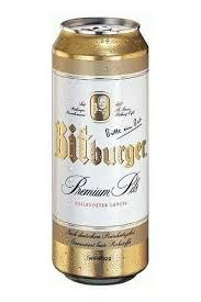 Bitburger 16oz 4pk Cans