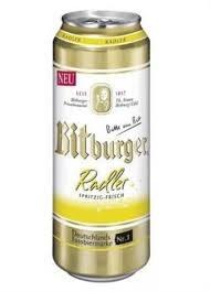 Bitburger Radler 16oz 4pk Cans