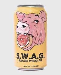 Black Hog Swag Wheat Ale 12oz 6Pk Can